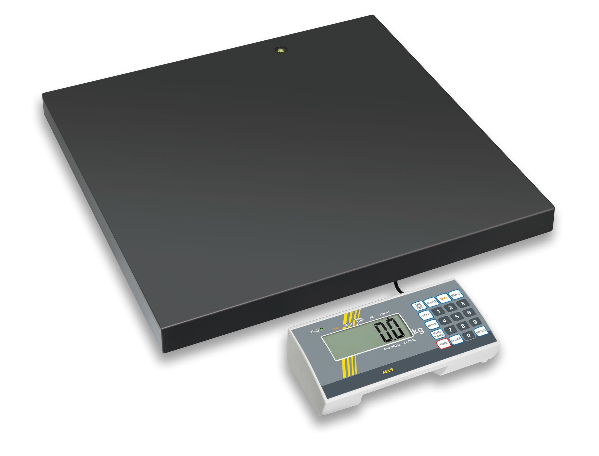 personenwaage mxs bis 300 kg mit eich und medizinzulassung f r bergewicht. Black Bedroom Furniture Sets. Home Design Ideas